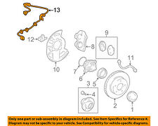 TOYOTA OEM ABS Anti-Lock Brakes Front-Sensor Wire Left 8951660270