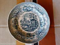 RARE Antique W. A Adams & Sons England DAMASCUS PLATE TRANSFERWARE