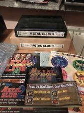 Metal Slug 2 ,Full Kit Neo Geo Mvs Original , Matching
