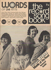 Middle of The Road on Record Song Book Magazine Cover June 1972     Don McLean