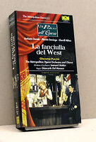 LA FANCIULLA DEL WEST  (vhs, Un palco all'opera, Fabbri Video)