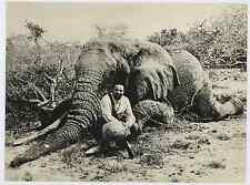 Somalia, Italo Balbo in Somalia nel 1940  Silver print. Italo Balbo (Quartesana,