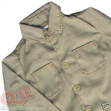 Infirmary Exclusives Tan Long Sleeve Shirt for Action Figures 1:6 (7401g56)