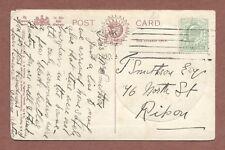 York Shambles 1909,  T.Smithson  76 North Street Ripon,  Olivia Watson    AH102
