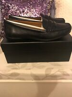 New Coach Penny black leather ladies shoes size 6