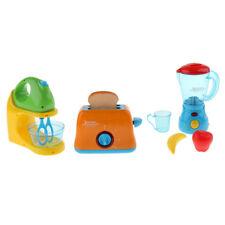 3PCS Simulation Home Appliance Bread Maker Blender Juicer Kids Kitchen Toy