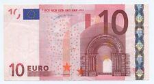 European Union EURO 10 EUROS X 2002 BRIDGE FLAG MAP Currency Money Bill Banknote