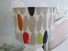 Handmade Drum Lampshade - Laura Ashley Wallace multi  fabric 30cm