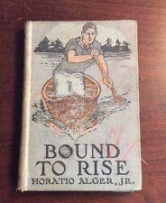 Bound To Rise (1911, Hardcover) Horatio Alger Jr PreOwnedBook.com