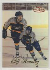 1998-99 Topps Gold Label Class 1 Red /100 Cliff Ronning #55