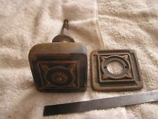 Vintage Heavy Large Door Knob with Matching Face Plate