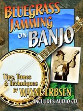 Bluegrass Jamming on Banjo Book w/Cd by Wayne Erbsen * New Release!