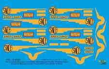 """[FFSMC Productions] 0 scale - 1/43 Decals pour """"Etoile du Nord"""" Meccano Hornby"""