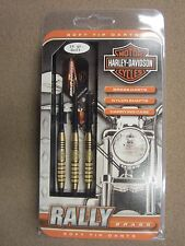 Harley Davidson Rally Brass 18g Soft Tip Darts w/ FREE Shipping