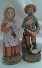 Home Interior Old Farmer and Wife  2006 Porcelain
