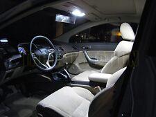 White LED Interior Dome Trunk License Plate Lights Kit 06-11 Civic (6 pcs kit)