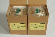 Pair of Tube Output Transformers Hashimoto H-20-14U 10K/14K 801A VT62 801 VT 62