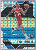 BEN SIMMONS RC 2016-17 PRIZM MOSAIC #6 ROOKIE 76ERS