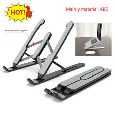 Adjustable Laptop Notebook Table Stand Aluminum Foldable Computer Desk Portable*