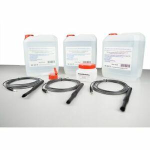 Beiz Elektrolyt für Schweißnahtreinigung mit Beizgerät 3x 5Liter + Zubehör