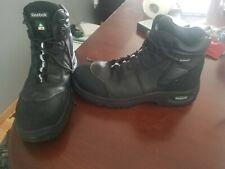 Reebook Steel Toe Work Boots Water Proof New Size 12 12W Black