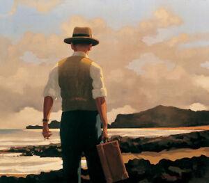 Jack Vettriano - The Drifter - premium open edition print (46x50)