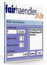PASSWORT GENERATOR Passwörter generieren erstellen PASSWORDs Tool WOW E-LIZENZ