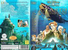 (VHS) Atlantis - Das Geheimnis der verlorenen Stadt - Walt Disneys Meisterwerke