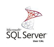 MICROSOFT SQL SERVER 2016 USER CAL | LICENZA VOLUME | FATTURA
