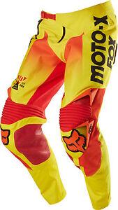 Fox Racing 360 Limited Edition 40 Year Pant Yellow Men's Motocross MX/ATV/MTB
