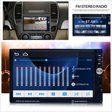 7 '' LCD 2 Din Car Bluetooth Radio Backup Rear View TF Card FM/AUX/RM MP5 Player
