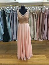 Madison James 16-344 Peach - Cocktail Formal Bridesmaid Prom Size 12