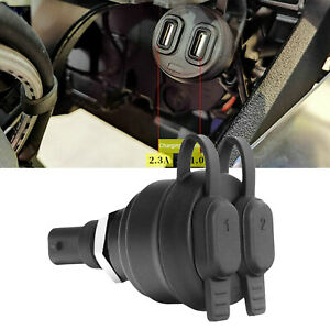 Dual USB Charger Power Adapter Kit For BMW R1200GS R1250GS F850GS DIN Sockets UK