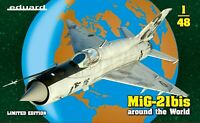 Eduard Limited Edition 1:48 MiG-21bis Around The World Aircraft Model Kit