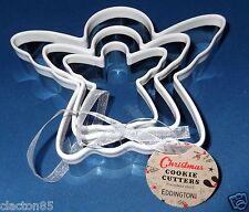 Eddingtons Acero Inoxidable Angel Navidad Galletas Reposteria Cortador De Galletas X 3