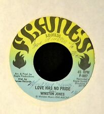 Winston Jones Flames 007 Love Has No Pride and Part Two