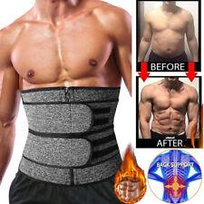 Frauen Männer Bauch Kontrolle Fatburner Mieder Taille Trainer Schweißgürtel DE