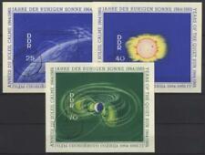 53846] DDR, Block 20-22 gestempelt Tagesstempel - Jahr der ruhigen Sonne