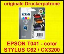 original Patrone EPSON STYLUS C62 / CX3200 * T041 color * B-WARE