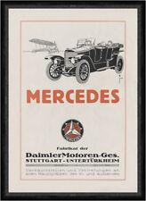 Mercedes Daimler Stuttgart Untertürkheim Coupe Plakat Braunbeck Faks_Motor 284