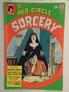 Archie RED CIRCLE SORCERY #6 (1974) Greygor, Josalee, Lorema