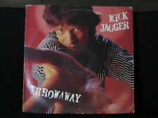 "Mick Jagger. Throwaway. 33 rpm 12"" (inch) EP. 1987."