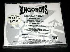 "BINGOBOYS ""Borrowed Love"" RARE PROMO MAXI CD 5 Mixes Radio LP EX NM/MINT 1991"