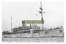 rp13216 - Royal Navy Sub Depot Ship - HMS Titania , built 1915 - photograph 6x4