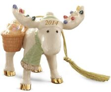 Lenox 2014 Annual Merry Moose Holiday Cookies Ornament *New in Box*