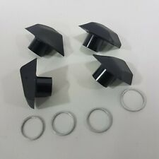 Stronglight Cap Set for Osymetric R9100 Series Outer Ring-Bolt Cover 4Pcs+4Rings