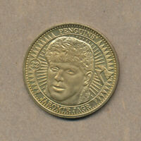 1997-98 Pinnacle Jaromir Jagr Mint Collection Coins Brass #22 Hockey Card