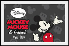 Disney Mickey Mouse & Friends Licensed Metal Dies by Character World  NEW!