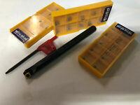 "5/16 "" CCMT SCLCR LATHE INDEXABLE boring bar 10 pcs carbide inserts NEW"