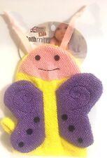 Child's Butterfly Bath Mitt Puppet Wash Cloth London Bath & Beauty Kids It/256